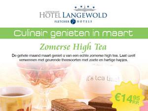 Advertentie Fletcher Hotel Langewold | Hightea