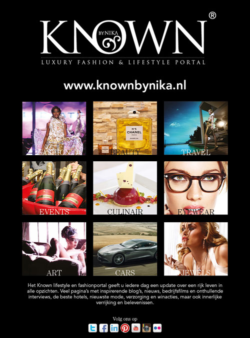 Advertentie Known | Fashionportal - 148x210