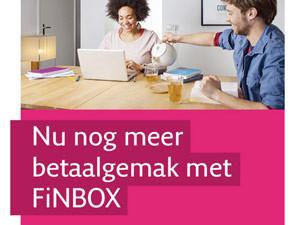 Flyer Bluem | Promotie FiNBOX Essent – dubbelzijdig 148×210