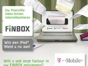 Flyer Bluem | Promotie FiNBOX T-Mobile – dubbelzijdig 148×210