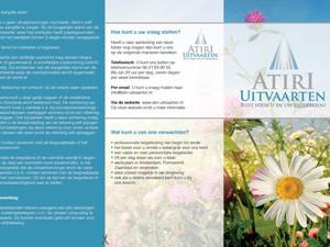 Folder Atiri Uitvaarten | Informatie – drieluik 297×210