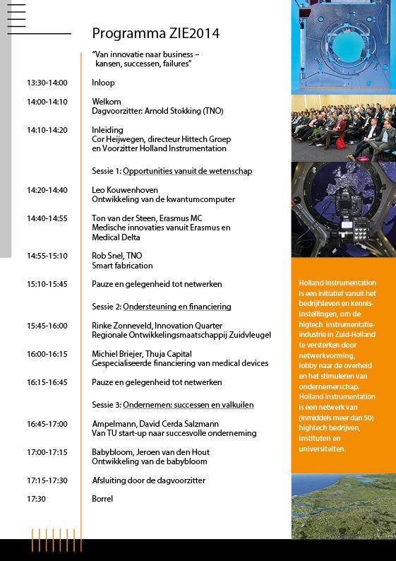 Folder Holland Instrumentation | Uitnodiging ZIE2014 - 3
