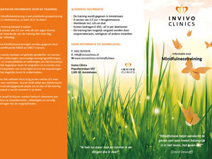 Folder Invivo Clinics | Informatie – drieluik 297×210