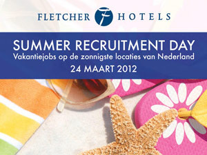 Poster Fletcher Hotels | Recruitment Day – 297×420