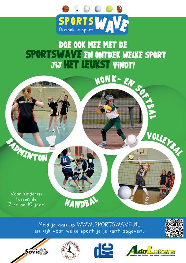 Poster Volleybalvereniging Sovicos | SportsWaVe - 420x594