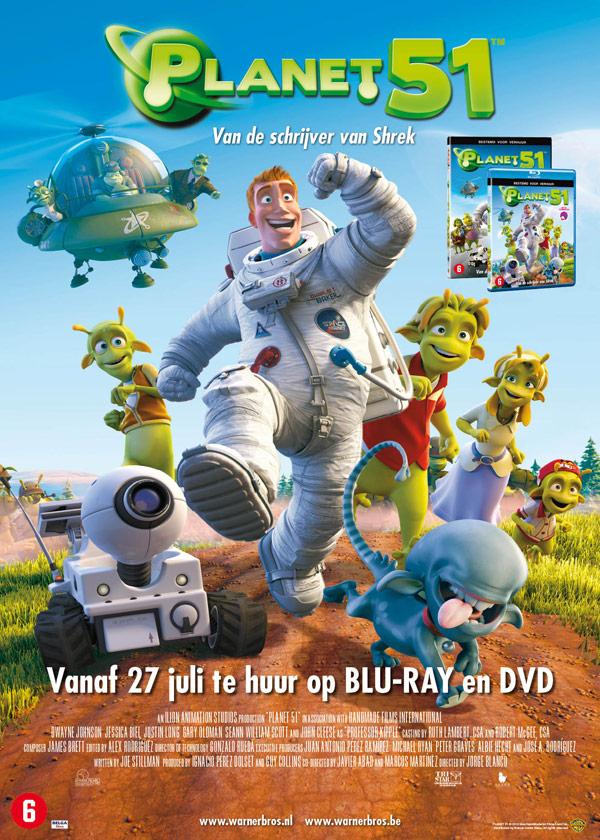 Poster Warner Bros | Planet 51 - 500x700