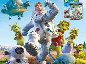 Poster Warner Bros | Planet 51 – 500×700