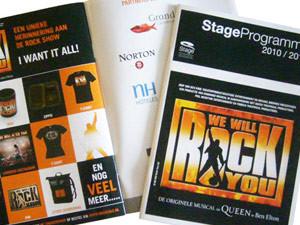 Stage Entertainment | Programmaboekje WWRY